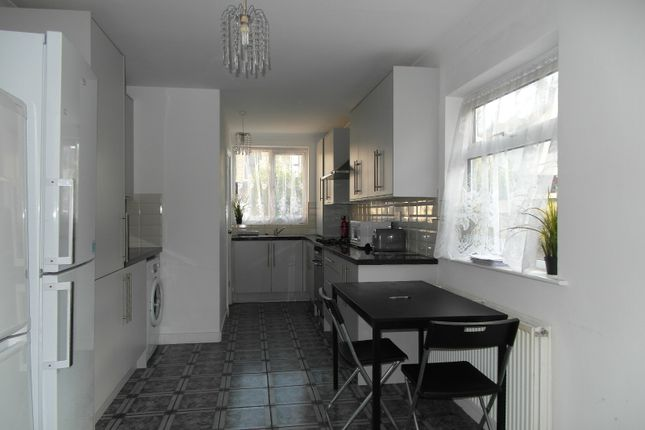 Thumbnail End terrace house to rent in Dunbar Road, London
