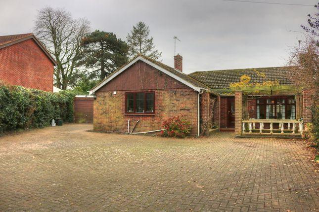 Thumbnail Detached bungalow for sale in Fifers Lane, Norwich
