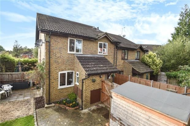 Thumbnail Terraced house for sale in Hexham Close, Heath Park, Sandhurst