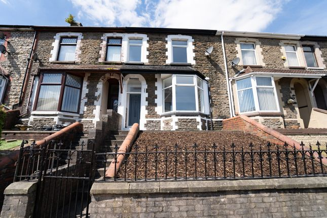 Thumbnail Terraced house for sale in Libanus Road, Ebbw Vale