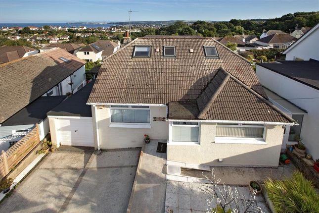 Thumbnail Detached bungalow for sale in Hutton Road, Preston, Paignton, Devon