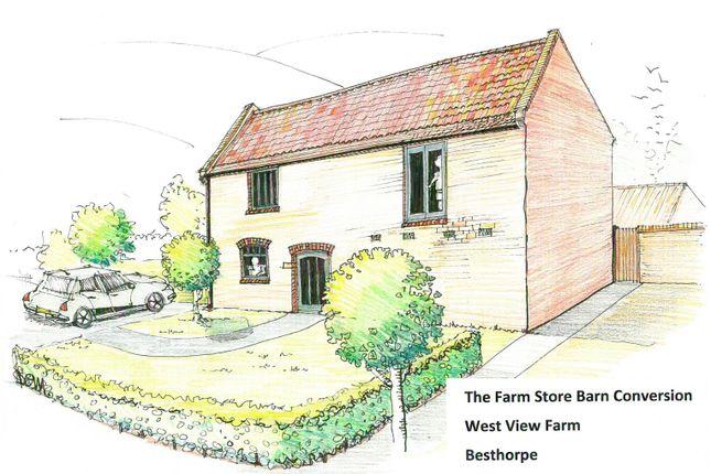 The Farm Store Barn Conversion - Artists Impressio