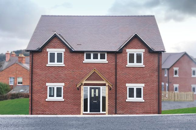 Thumbnail Detached house for sale in Plot 1 Young's Piece, Pontesbury