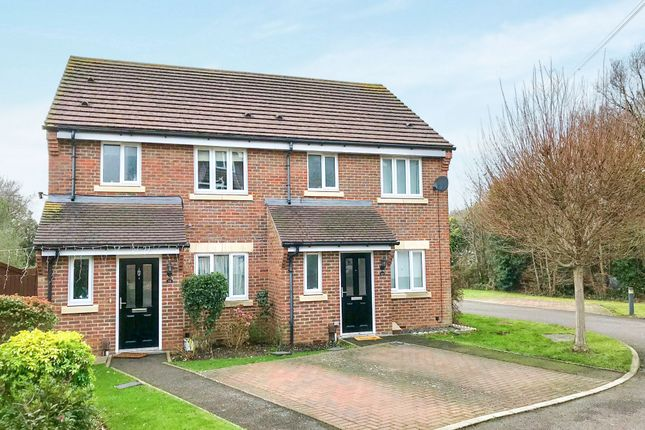 Thumbnail Semi-detached house for sale in Burford Road, Worcester Park, Surrey