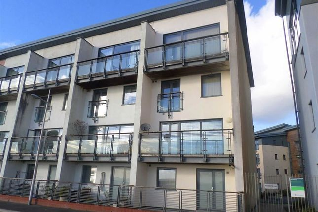 Thumbnail Town house for sale in St Christophers Court, Marina, Swansea