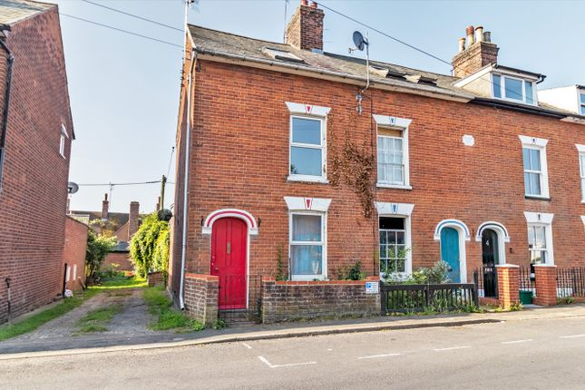Thumbnail Town house for sale in Belle Vue Road, Wivenhoe, Colchester