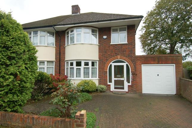 Thumbnail Semi-detached house for sale in Uxbridge Road, Hampton Hill, Hampton