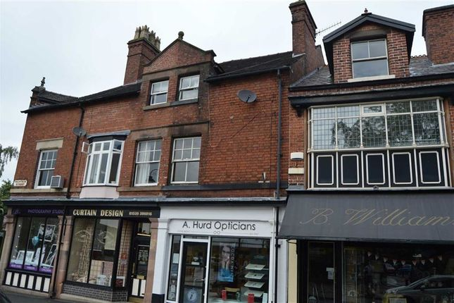 Thumbnail Flat to rent in Cawdry Buildings, Fountain Street, Leek