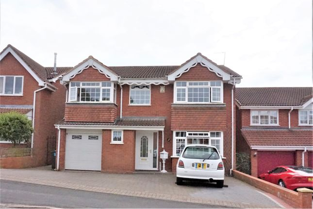Thumbnail Detached house for sale in Shire Ridge, Walsall