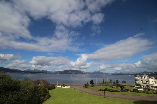 Thumbnail Flat for sale in Cloch Road, Gourock