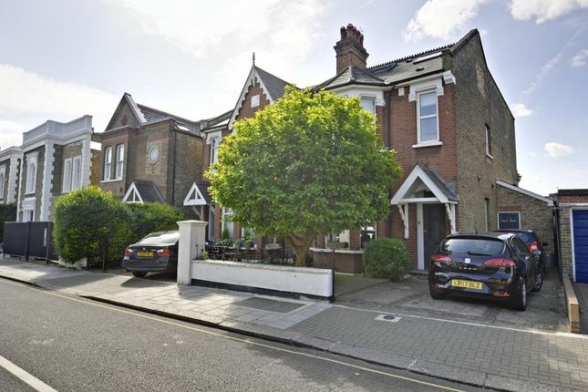 Thumbnail Semi-detached house for sale in Wellesley Road, Chiswick, London