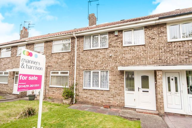 Thumbnail Terraced house for sale in Milbank Close, Hart, Hartlepool
