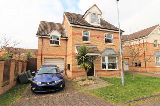 Thumbnail Detached house for sale in Peacock Place, Gainsborough