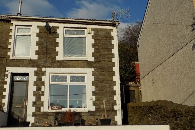 Thumbnail Terraced house for sale in Pantypwydn Road, Abertillery