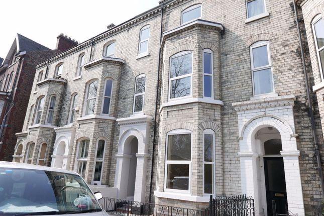 Thumbnail Flat to rent in Grosvenor Terrace, Bootham, York