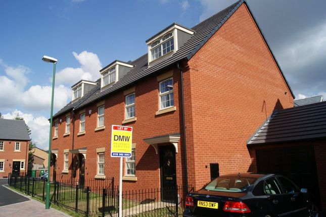 Thumbnail Terraced house to rent in Lido Close, Bulwell, Nottingham