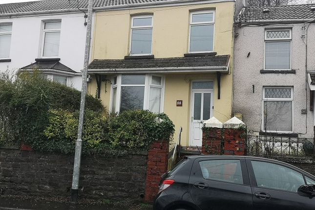 Thumbnail Terraced house for sale in Commercial Street, Maesteg, Bridgend.