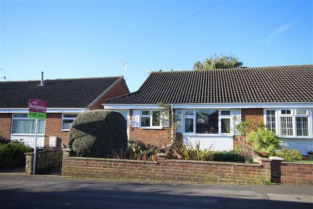 Thumbnail Semi-detached bungalow for sale in Coleridge Close, Royal Wootton Bassett, Wiltshire