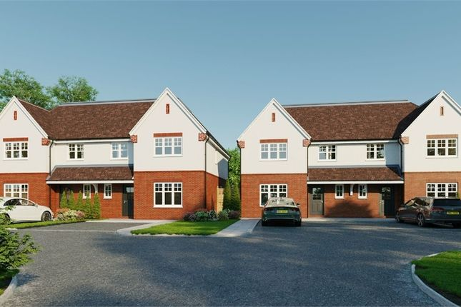Thumbnail Semi-detached house for sale in Bessborough View, Weston Avenue, West Molesey, Surrey