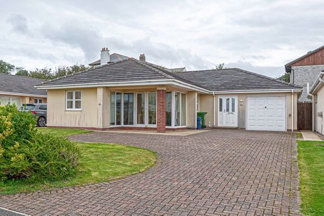 Thumbnail Detached bungalow for sale in The Rise, Trearddur Bay, Holyhead