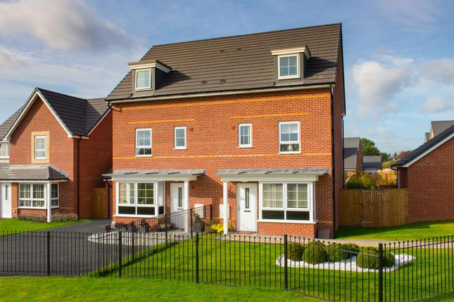 "Thumbnail Semi-detached house for sale in ""Woodbridge"" at Station Road, Methley, Leeds"