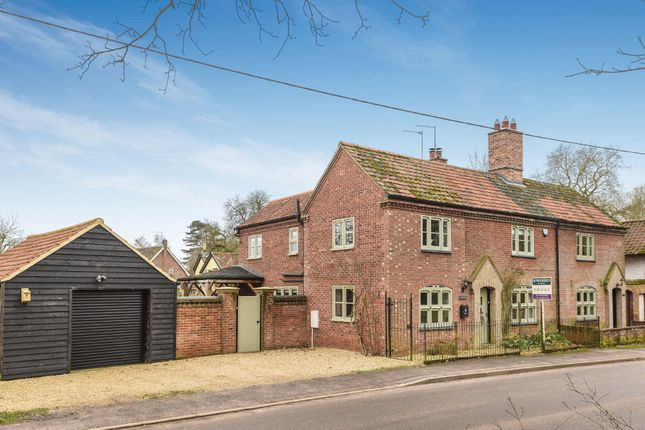 Thumbnail Detached house for sale in Broadmoor Road, Carbrooke, Thetford