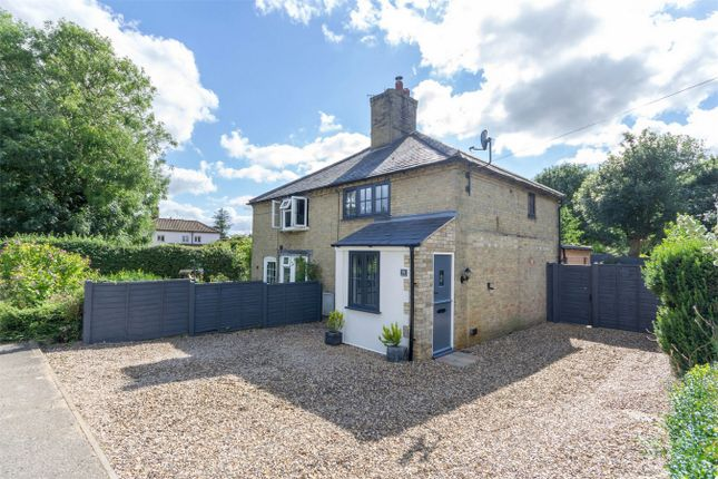 Thumbnail Semi-detached house for sale in Station Road, Great Massingham, King's Lynn