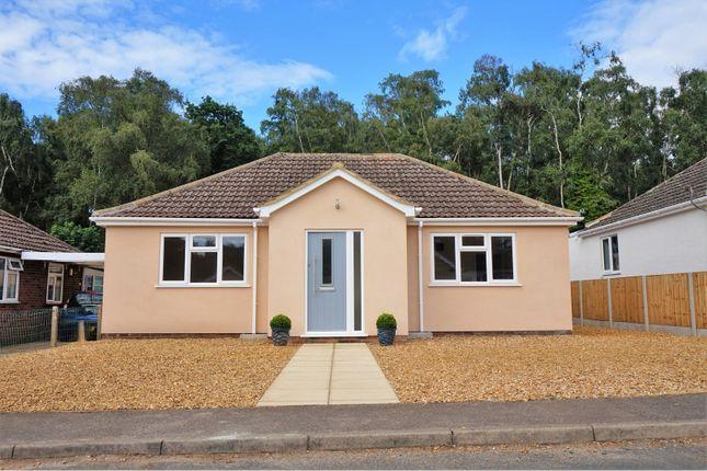 Thumbnail Detached bungalow for sale in Woodside Close, Dersingham