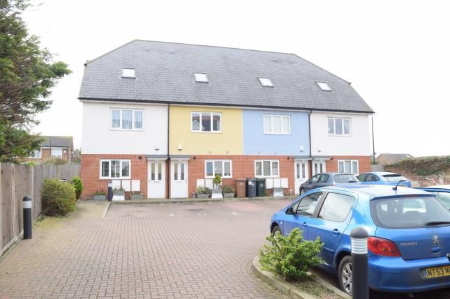 Thumbnail End terrace house for sale in Keppel Close, Greenhithe High Street, Greenhithe, Kent