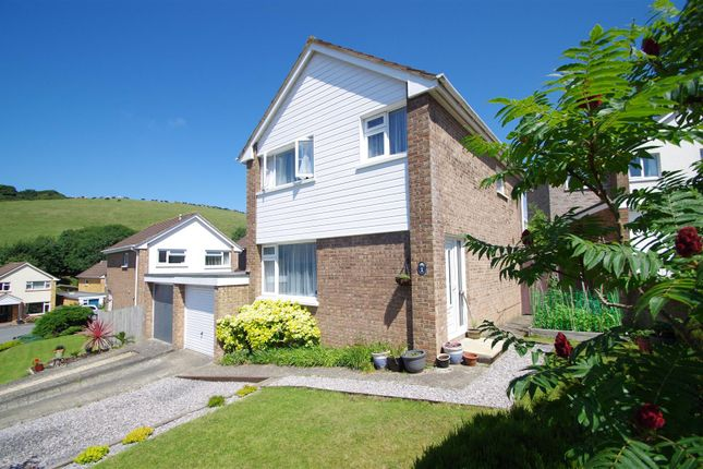 Thumbnail Link-detached house for sale in Chestnut Close, Braunton