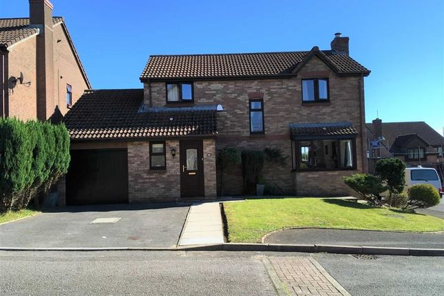 Thumbnail Detached house for sale in Juniper Close, Swansea
