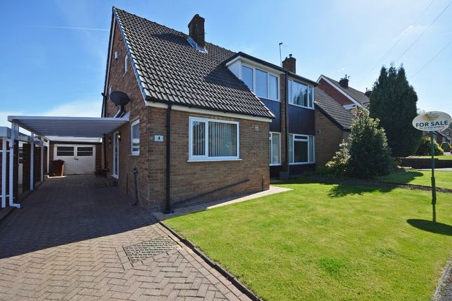 Thumbnail Bungalow for sale in The Paddock, Normanton