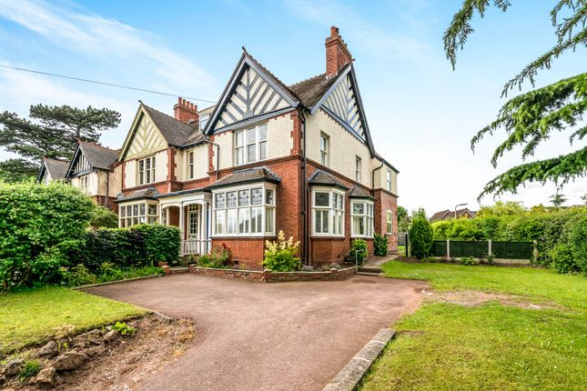Thumbnail Semi-detached house for sale in Walsall Road, Lichfield