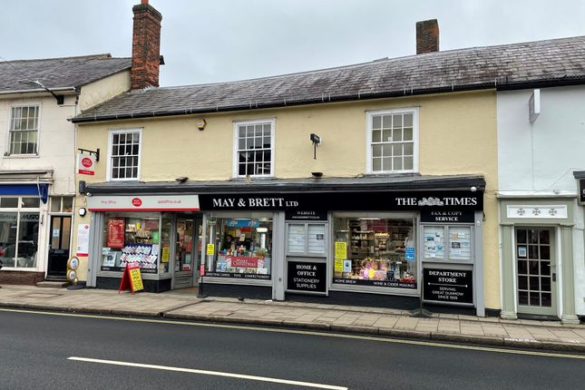 Thumbnail Terraced house for sale in High Street, Dunmow