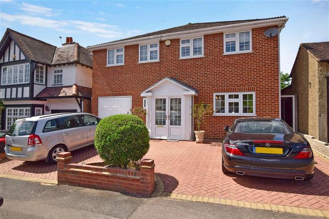 Thumbnail Detached house for sale in The Uplands, Loughton, Essex