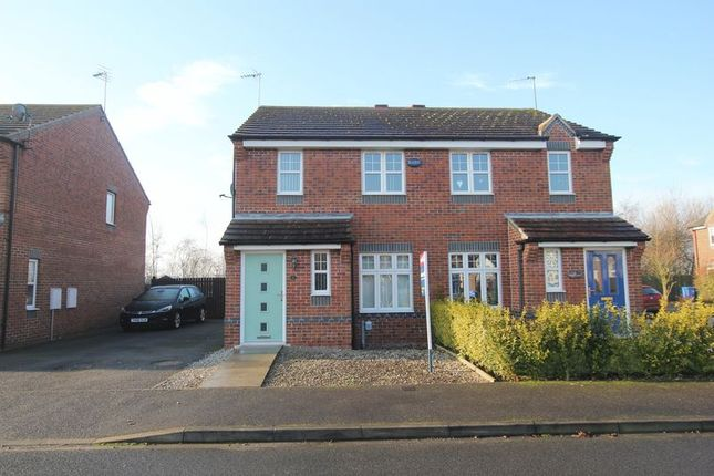 Thumbnail Semi-detached house to rent in Colemans Road, Hedon, Hull