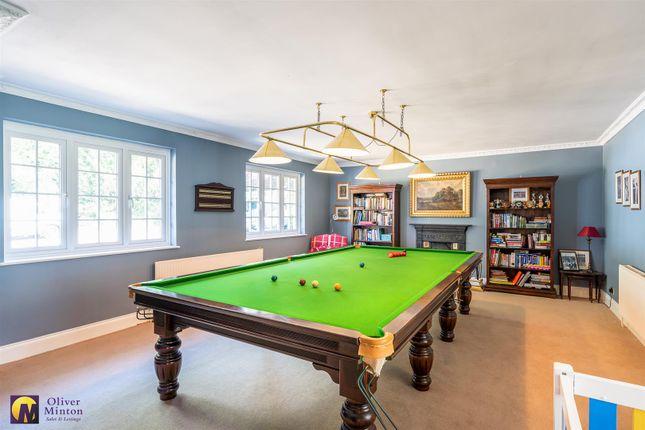 Snooker Room of Low Hill Road, Roydon, Essex CM19