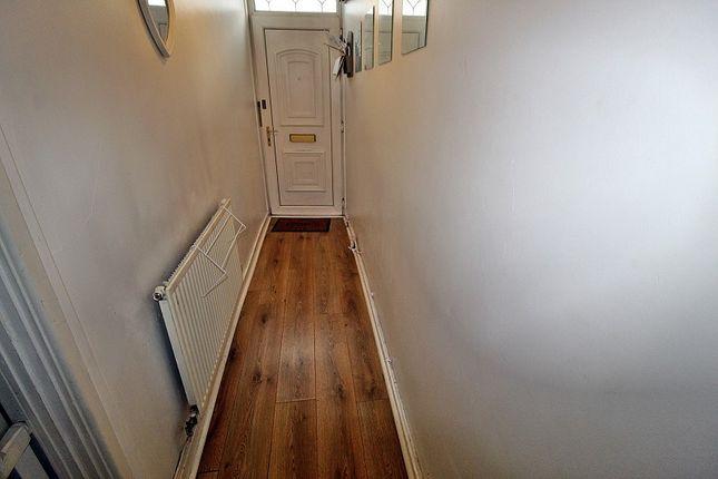 Hallway of Penrhys Road, Tylorstown, Ferndale, Rhondda, Cynon, Taff. CF43