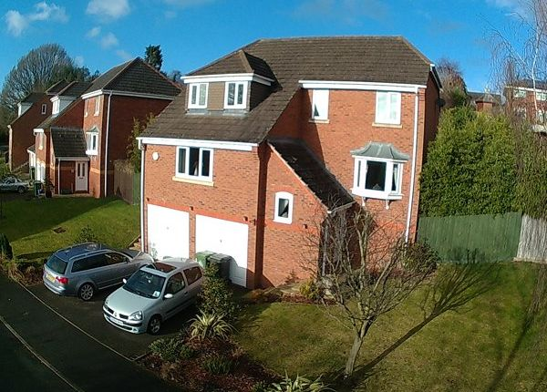 Thumbnail Detached house for sale in Wordsworth Drive, Market Drayton