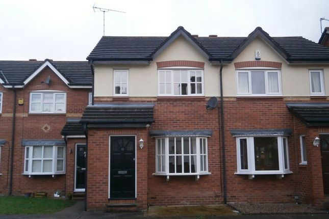 Thumbnail Terraced house to rent in Ambleside Close, Macclesfield