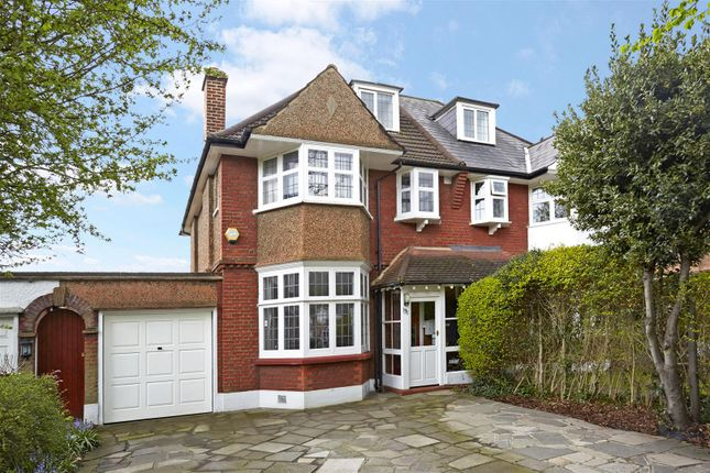 Semi-detached house for sale in Coombe Lane, West Wimbledon