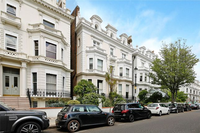 Exterior of Pembridge Square, Notting Hill, London W2