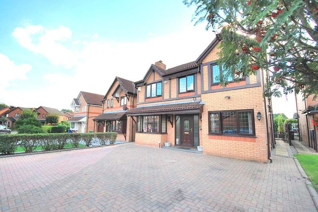 Thumbnail Detached house for sale in Broadwell Drive, Leigh