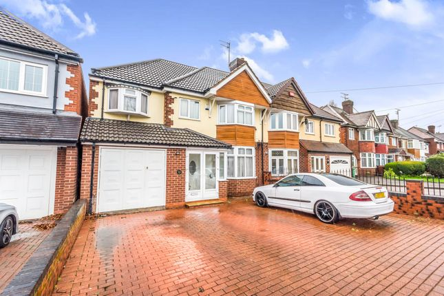 Thumbnail Semi-detached house for sale in Broadway West, Walsall