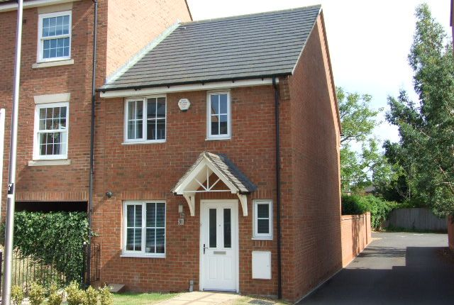 Thumbnail End terrace house to rent in Greensand View, Woburn Sands