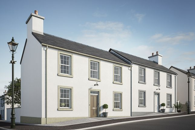 Thumbnail End terrace house for sale in Croy Road, Tornagrain, Inverness