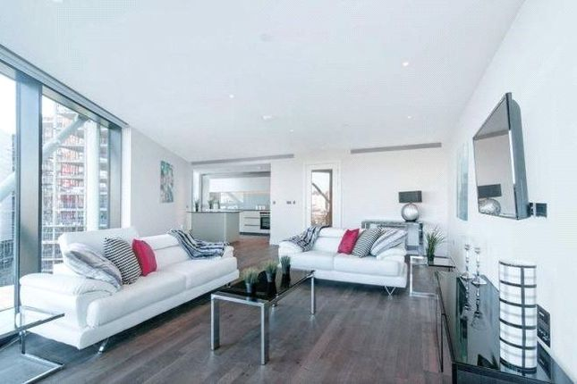 Thumbnail Flat for sale in 1 Riverlight Quay, London