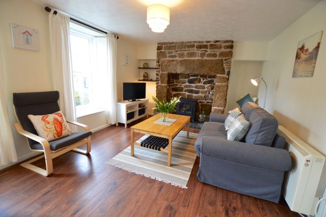 Thumbnail Flat to rent in Fore Street, Lelant