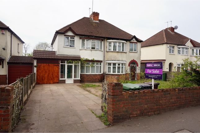 Thumbnail Semi-detached house for sale in Stafford Road, Wolverhampton