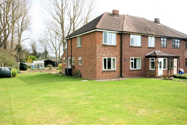Thumbnail Semi-detached house for sale in Dunmow Road, Fyfield